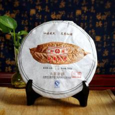 Large Leaf Green Cake * Yunnan Mengku Rongshi Organic Pu erh Puer 500g Raw 2012