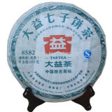 8582 MengHai Tea Factory Dayi TAETEA Raw Sheng Puerh Puer Pu Er Tea 357g 2012
