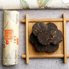 Tibetan Dark Tea Sichuan Ya'an Ya An Zang Cha Aged Mini Cakes Gold Stick 50g