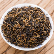 Supreme Jin Jun Mei Golden Eyebrow Top Wuyi Black Tea Golden Buds Jinjunmei