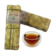 Tibetan Tea Horse Road Dark Tea Sichuan Ya'An Hei Cha in Bamboo Basket 200g
