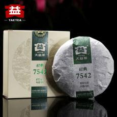 ORIGINAL 2018 Dayi 7542 TAETEA Classic Pu Er 150g Menghai Pu-erh Tea Raw Cake