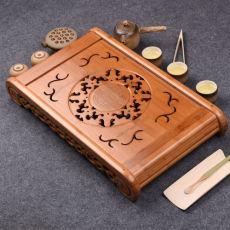 Kong Ming Solar Circle Bamboo Gongfu Tea Serving Tray 49*29cm Bamboo Tea Table