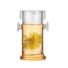 210ml Heat-resistant Glass Kungfu Teapot Puerh Black Oolong Tea infuser