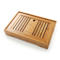Slatted Box * Chinese Bamboo Tea TableTea Serving Bamboo Tray 35*23cm Tea Tray