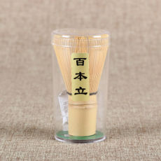 100 Prongs White Bamboo Chasen Whisk Japanese Ceremonial Matcha Bamboo Whisk