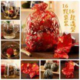 10Pcs Handmade Chinese Green Artistic Blooming Flowering Flower Tea Ball Gift