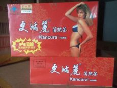 LOT OF 5 Boxes of KANCURA Herb Tea Weight Loss Slimming Tea 20*5 Teabags