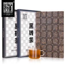 Hei Zhuan Tea Mini Dark Tea Organic Aged Slimming Dark Brick Black Tea 450g