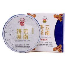 Yunnan Bing Cha Puer Xiaguan Flame Pu-erh Iron Cake Raw Pu'er Tea 125g 2014