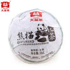 PANDA TUOCHA * 2012 Premium Tuocha MengHai Dayi TAETEA RAW Shen Puer Pu Erh 100g