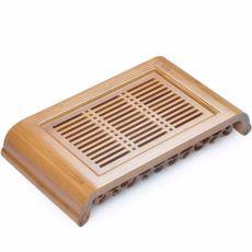 Kong Ming Wisdom * Bamboo Gongfu Tea Table Serving tray 40*22cm Bamboo Tea Tray
