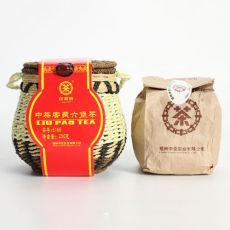 CHINA LIU PAO TEA 6166 Liupao Hei Cha Liu Bao Aged Black Dark Tea In Basket 250g