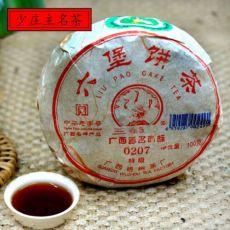 Guangxi Liu Bao 0207 * Sanhe Liu Pao Dark Tea 100g Guangxi Heicha WUZHOU TEA