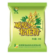 Wild Harvested Shell-broken Pine Pollen Powder 99% Cracked Cell Wall 50g*10bags