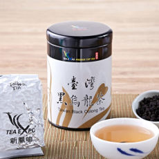 Taiwan Black Oolong Tea Carbon Roast Slimming Tea Reducing Weight 100g Tin