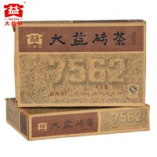 TAETEA 7562 * Yunnan Menghai Dayi Pu Erh Brick Tea 2009 250g Ripe Puer Shu