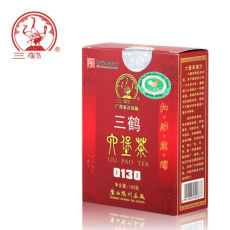 Loose Liu Bao Tea 100g SANHE 0130 * Guangxi Wuzhou Tea Aged Dark Tea Hei Cha