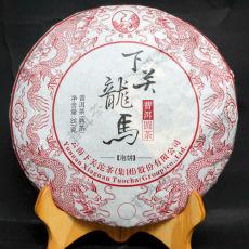 2016 LONG MA GOLDEN BING Arbor Yuan Cha * Xiaguan Tuocha Ripe Puer Tea Shu 357g