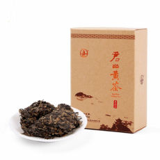 Premium Hunan Jun shan Huang Cha Pressed Nuggets Jun Shan China Yellow Tea 100g