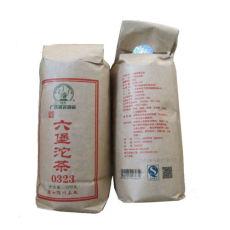 Guangxi Wuzhou Tea TuoCha 0323 Dark Tea Three Crane Liubao Liu Bao Tea 500g