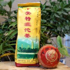 Xiaguan Te Ji Tuo Cha Premium Grade Pu-erh Tea 2013 Raw Puer Green Tea 500g