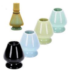 Ceramic Matcha Whisk Stand Chasen Holder Japanese Matcha Green Tea Whisk Holder