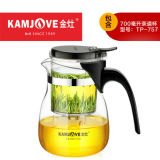 TP-757 Kamjove Art Tea Cup * Mug & Tea Pot 700ml Glass Gongfu Teapot Maker Press
