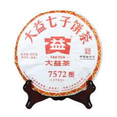 Original TAETEA 7572 Puerh * 2017 Yunnan Menghai Dayi Ripe Pu'er Tea 357g 1702
