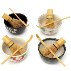 Japanese Ceremony Matcha Tea Set Green Tea Plus Optional Whisk Scoop Bowl Set