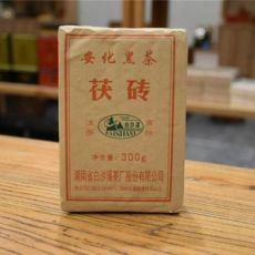 FuZhuan China Anhua Baishaxi Slimming Dark Tea 300g Hei Cha Fu Brick Black Tea