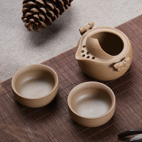 Kung Fu Tea Set Include 1 Pot 2 Cup High Quality Gaiwan Gongfu Tea Set Travel