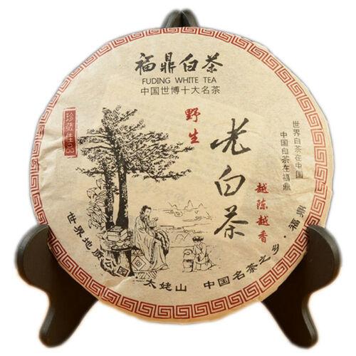 Chinese Gong Mei Fuding Shoumei Tea Bai Cha Wild Old White Tea Cake 350g