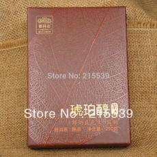 Amber Chun * 2013 Haiwan Old Comrade Pu-erh Puer Tea Ripe Cooked Brick 250g