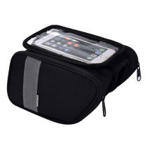 Sahoo  [122005] Roswheel Cycling Bicycle Bike Top Tube Front Frame Cell Mobile Phone Bag Case Holder Case Double Side Pannier