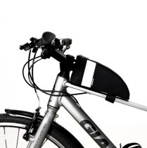 Sahoo [122003]Roswheel  Water Resistance Cycling Bike Bicycle Front Frame Top Tube Bag Pannier Pouch