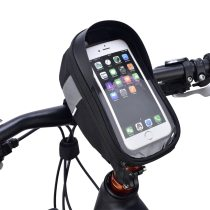 Sahoo [112003] Roswheel Cycling Bicycle Bike Head Tube Handlebar Cell Mobile Phone Bag Case Holder Case Pannier For 6.5in Phone