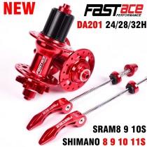 Fastace Hub [DA201] High Quality Sealed Bearing Disc Brake 24 28 32 Holes MTB Mountain Bike Hubs 8 9 10 11 Speed Bicycle Hub