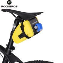 ROCKBROS.[AS-004] Waterproof Bike Saddle Bag Bicycle Rear Top Tube Bag MTB Cycling Seat Tail Reflective Pannier Backpack Bike Accessories