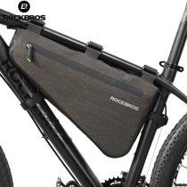 ROCKBROS.[AS-017] Bike Bicycle Bag Rainproof Large Capacity MTB Road Frame Bag Triangle Pouch Waterproof Caulking Bag Pannier Accessories