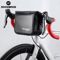 ROCKBROS.[AS-008] Mtb Bike Front Bag 3L Waterproof Handlebar Bag Bicycle Frame Bag Front Tube Pocket Shoulder Pack bmx Bike Accessories