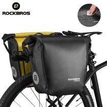 ROCKBROS.[AS-003].2 In 1 Waterproof Bicycle Bag 18L Portable Pannier Rear Rack Tail Seat MT Bike Bag Trunk Pack Cycling Bike Accessories