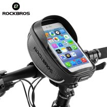 ROCKBROS.[010]  Bike Frame Front Tube Bag Cycling Riding Bag Pannier Smartphone GPS Touch Screen Case Bike Bicycle Accessories 4 Colors
