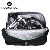 ROCKBROS.[D33] 1big+1small 20INCH Folding Bike Carrier Bag MTB Road Bicycle Carry Bag With Storage Bag Easy Carry Anti-dust Bicycle Pannier