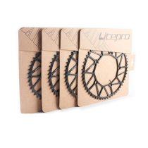 Litepro 130 BCD 50T 52T 54T 56T 58T Chainring 8 9 10 Speed Hollow CNC Alloy Single Disc Chainwheel Road Folding Bike Chain Wheel