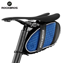 ROCKBROS.[C16] Bike Bags Bicycle Rear Bag Saddle Bag Waterproof 3D Shell Shockproof Large Capacity Seatpost Bags Ciclismo Accessories