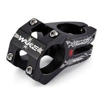 WAKE[A098B] 31.8mm MTB Bike Stem Cycling Clamp Stem Aluminum Alloy High-Strength Short Bicycle Handlebar Stem For Cycling