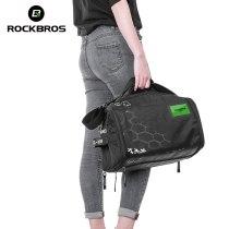 ROCKBROS.[H13]  Outdoor Bag Cycling Equipment Storage Bag With Rain Cover High Capacity Triathlon Handbag Bike Riding Equip Backpack