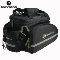 ROCKBROS .[A6] Trunk Pannier Package Pack Cycling Bike Rear Saddle Pack Bag Multi-function Bike Bicycle Rear Carrier Bags Rear Pack12L