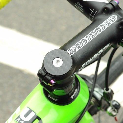 "Steerer Tube Headset Stem Top Cap 28.6mm Bicycle Road Mountain Bike 1 1//8/"""